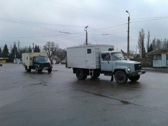 Около Горловки прошел обмен пленными между государством Украина ибоевиками