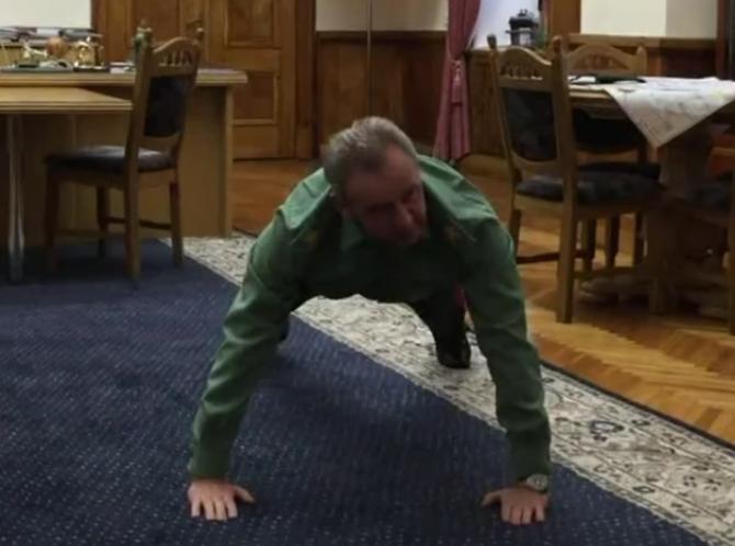 Начальник Генштабу Віктор Муженко долучився до флешмобу в підтримку американських військових