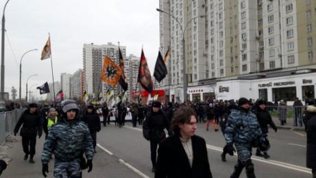 Организаторы «Русского марша» в столице говорили о 70 задержанных