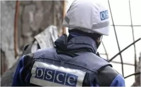 ОБСЄ: наДонбасі зменшилась кількість вибухів