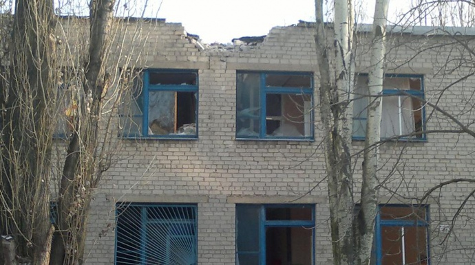 Наслідки обстрілів Авдіївки 8 грудня 2014 року