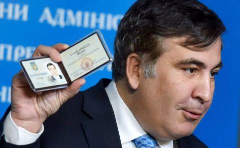 Саакашвили заявил о коварном плане Порошенко
