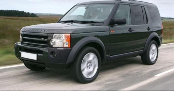 Автомобіль Land Rover Discovery, на якому пересувається екс-чиновник