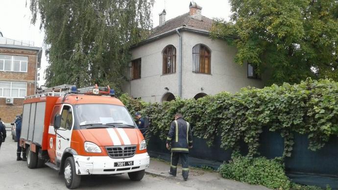ВоЛьвове вспыхнул пожар вдетсаду, 40 детей эвакуировали иззадымленного здания