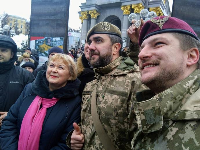 Олег Петров, військовий, який закликав зібратися на акцію.