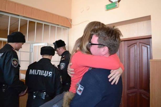 Сергій Хаджинов і дружина Вероніка