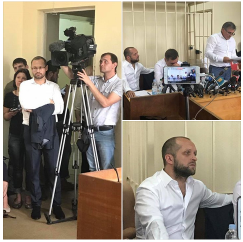 Суд відмовився переглядати відео про Полякова