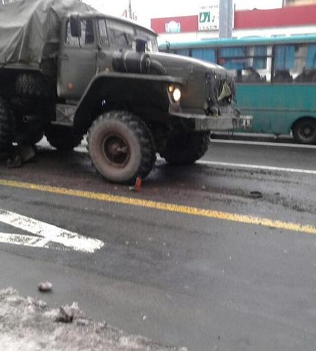 День дтп з машинами бойовиків фото
