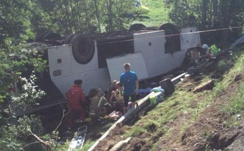 ВНорвегии разбился автобус сукраинцами: один умер