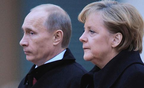 А.Меркель и В.Путин встретятся перед саммитом НАТО