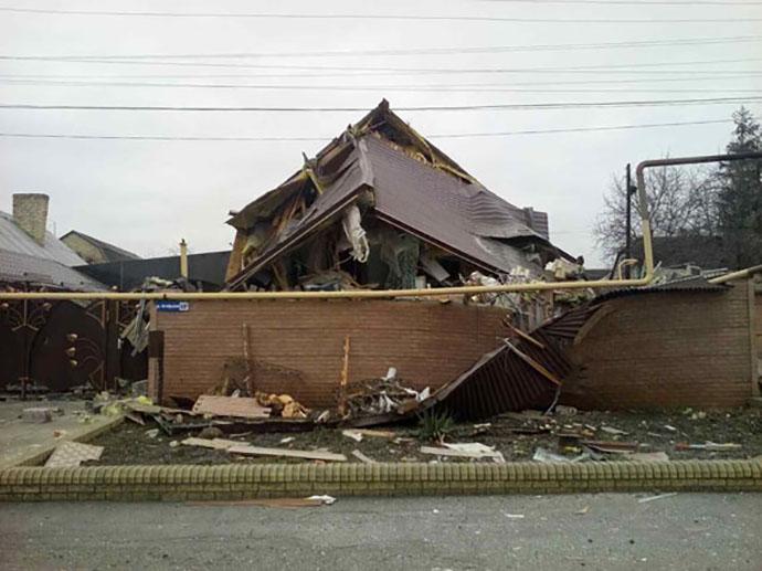 ВМарьинке иНиколаевке разрушены дома мирных граждан