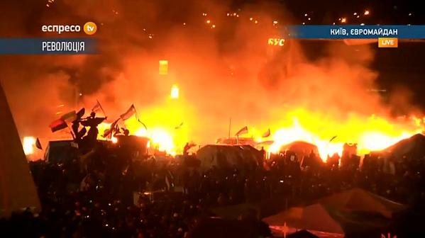 Kyiv Maydan 18 February 2014