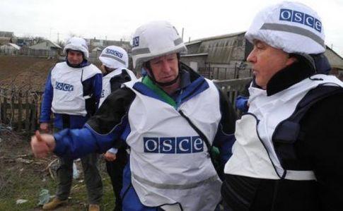 Вблизи Мариуполя ОБСЕ обнаружили вооруженных граждан России