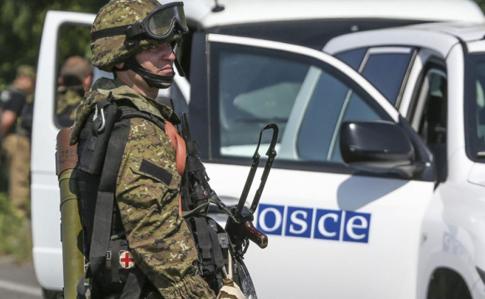 ОБСЕ снова сообщила обограниченном доступе кпунктам разведения оружия