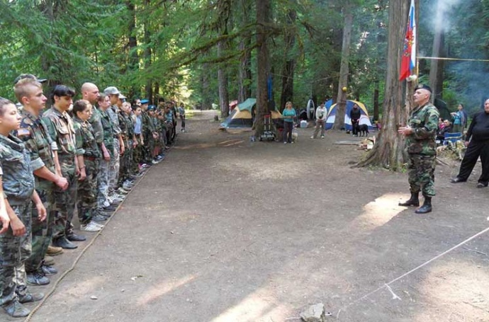 10-й лагерь, посвященный Дню десантника в Орегоне