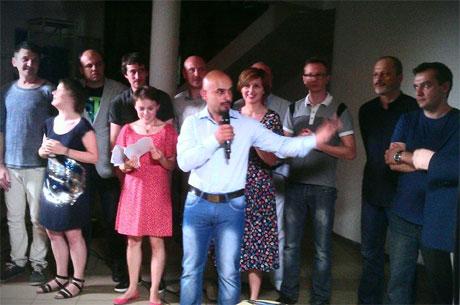 Презентація громадського телебачення, фото Оксани Денисової, УП