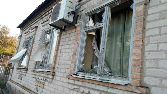 ВДонецкой области обстрелы разрушили больше десятка домов