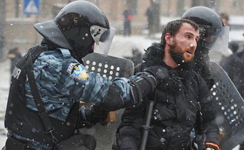 13 беркутовцев отстранены отслужбы вполиции запреступления против Майдана