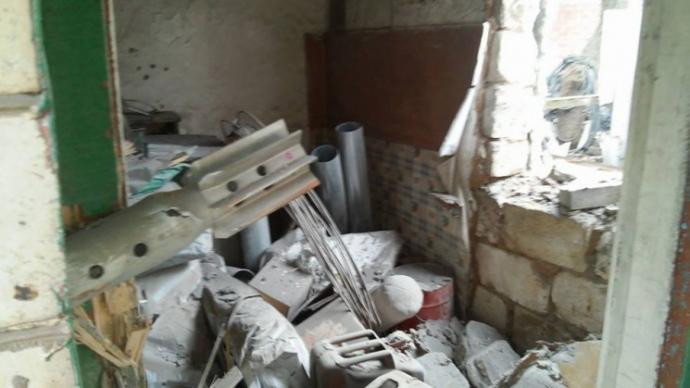 16 березня в гуманітарний пункт Жованки влетіло три міни