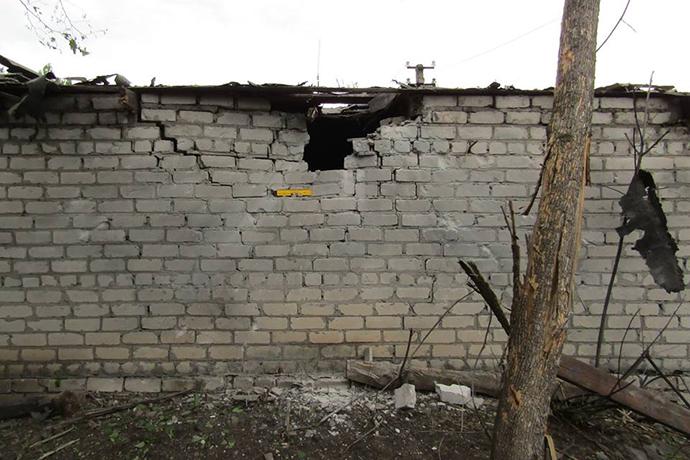 Боевики «ЛНР» обстреляли жилые дома вПопасной