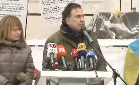 Саакашвили обвиняют потрем статьям, онобъявлен врозыск