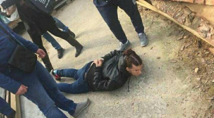 Появилось видео задержания похитителей двухмесячной девушки