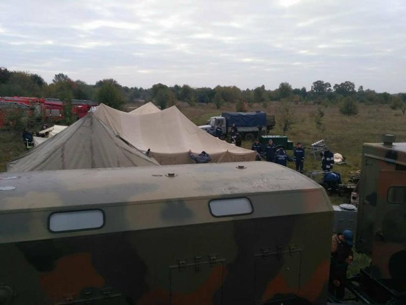 Що відбувається вКалинівці: рятувальники повідомили деталі
