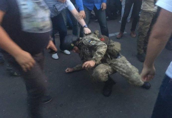 Напад соратників Саакашвілі на прикордонників