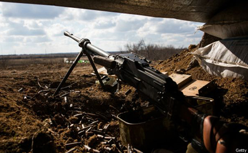 Напротяжении дня боевики 23 раза открывали огонь попозициям сил АТО