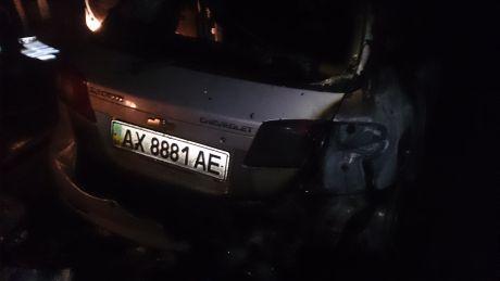 Третє підпалене у Харкові авто Євромайдану