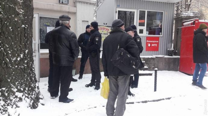 В одеський санаторій увірвалися люди з арматурою