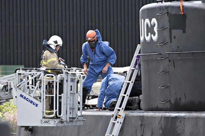 УДанії затонув найбільший приватний підводний човен «Наутілус»