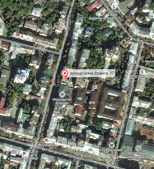 Машину Шеремета могли подорвать иззаброшенного дома вцентре столицы Украины [карта]