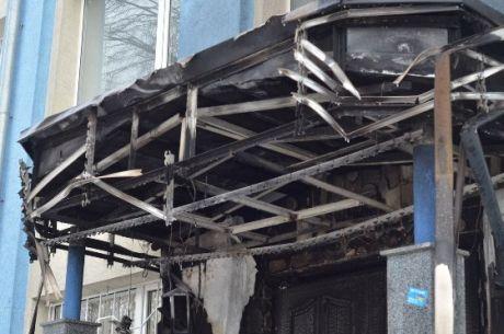 Підпал офісу ПР у Рвіному
