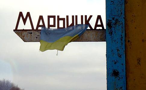 Боевики снова обстрелялиКП «Марьинка»