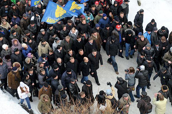 Івано-Франківськ: Вставай, Україно!