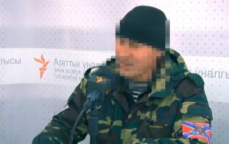 Боец армии Новороссии из Кыргызстана: регулярная армия РФ в Украине - это контрактники, которых временами перебрасывают
