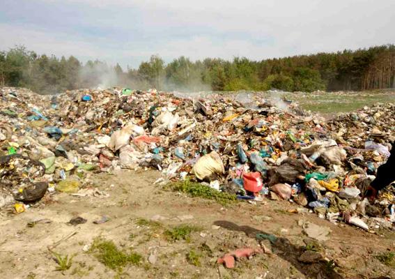 УЖитомирській області вивантажили «бродяче» львівське сміття