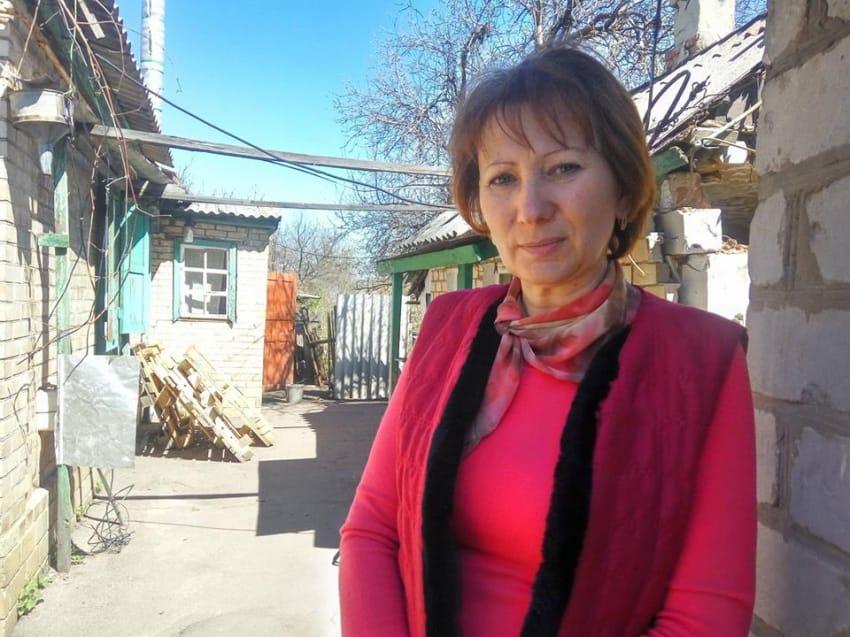 Родину мешканки Жованки Людмили Пахомової розкинуло по різні боки лінії фронту
