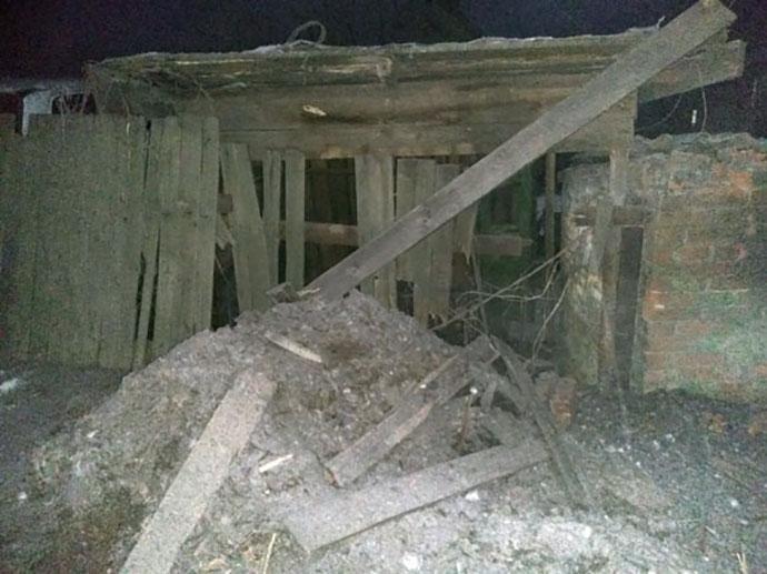 Несколько зданий вСветлодарске иТорецке повреждены из-за обстрела