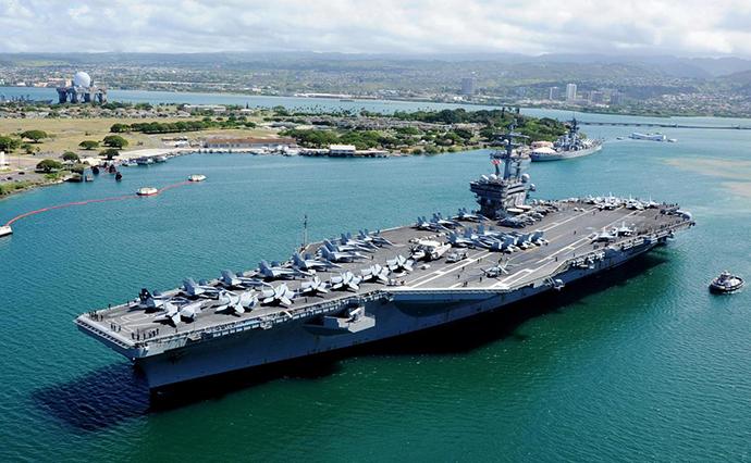 США направили авіаносець «Рональд Рейган» доКорейського півострова