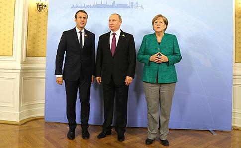 Меркель, Макрон і Путін обговорили Україну насаміті G20