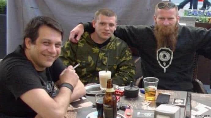 Синджелич с россиянами в Крыму