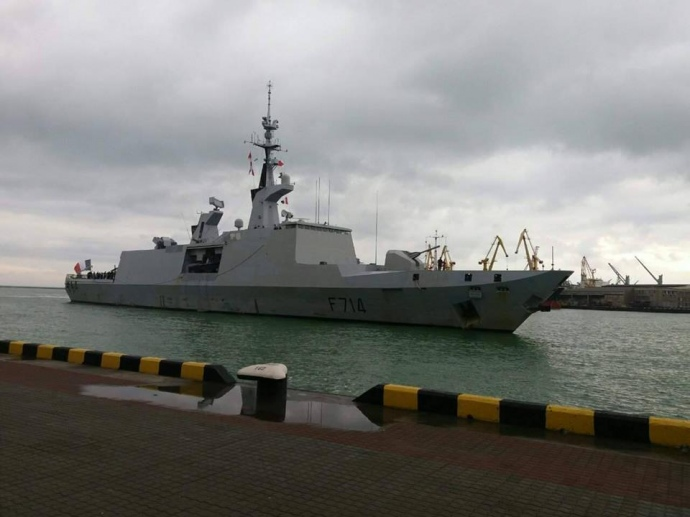 ДоОдеси прибув фрегат ВМС Франції