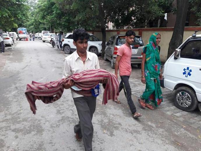 В Індії задва дні померли 30 дітей