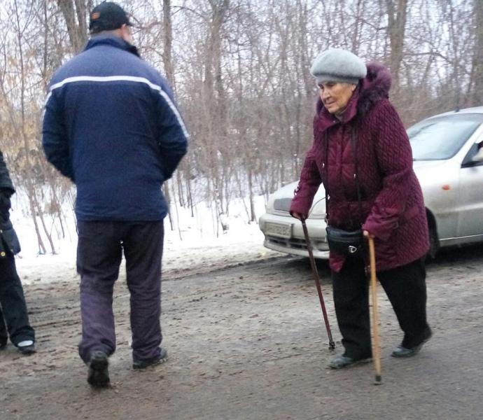 У 2015 році пенсіонери поверталися в свої рідні прифронтові міста