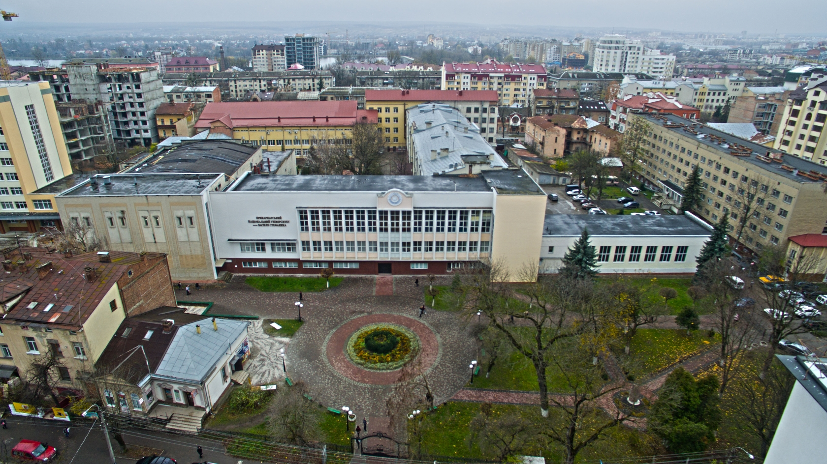 Прикарпатський національний університет, в якому навчався Роман Гурик