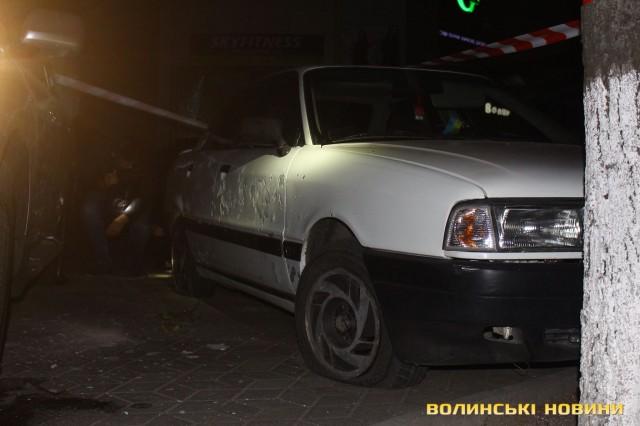 ВЛуцке около торгового центра произошел взрыв