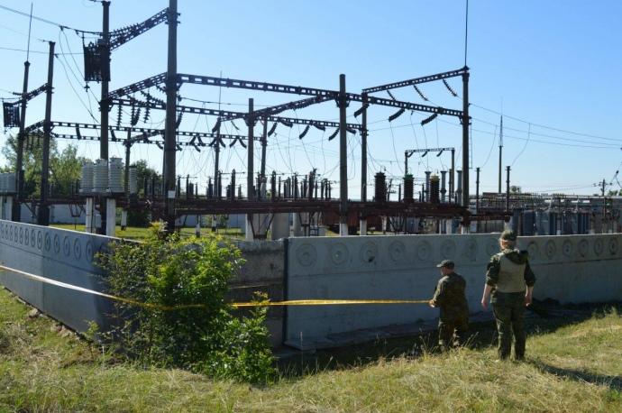 НаДонбассе неизвестные пытались подорвать электроподстанцию