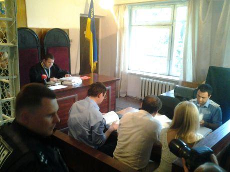 Луценко на суді проти Кузьміна і суддів